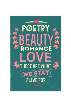 Продукт - Тефтер Poetry, beauty, romance, love...