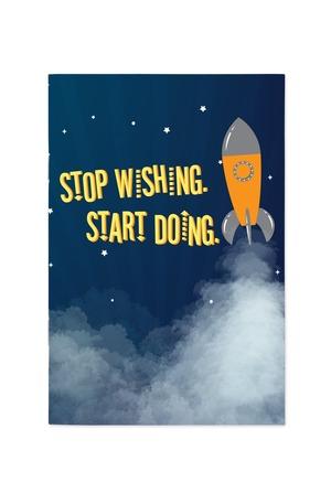 Продукт - Тефтер Stop wishing, start doing