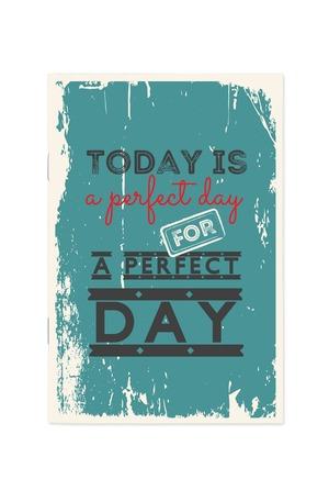Продукт - Тефтер Today is a perfect day...