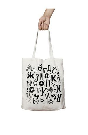 Продукт - Чанта за пазаруване - Българска азбука
