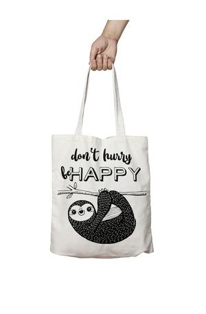 Продукт - Чанта за пазаруване - Don't hurry be happy