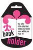 Продукт - Малък държач за книга - розов