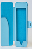 електронен четец - Калъф за електронен четец от еко кожа - син