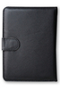 електронен четец - Калъф за електронен четец от еко кожа - черен