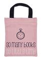 Чанта за книги от плат - So many books