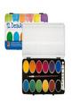 Акварелни бои - 12 цвята