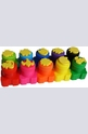 Бои за рисуване с пръстчета - 10 цвята + печати