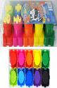 Бои за рисуване с пръстчета - 5 цвята + печати