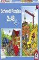 Building site vehicles - 2 x 48