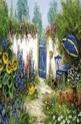 Charming garden scene - 1000