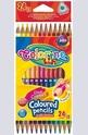 Duo colours - цветни моливи - 24 цвята