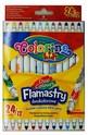 Двойни флумастери - 24 цвята