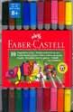 Двойни цветни флумастери Faber-Castell 10 броя
