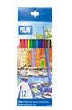 Флумастери - 12 цвята