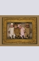 Four Teddies in Gold Frame - 2000
