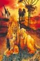 Lion family - 100