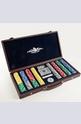 MON JEU Leather Poker Set - Кожен покер сет 300 части