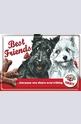 Метална картичка Best Friends
