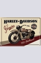 Метална картичка Harley-Davidson Genuine