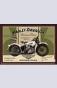 Метална картичка Harley-Davidson Knucklehead