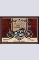 Метална картичка Harley-Davidson Panhead