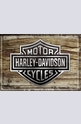 Метална картичка Harley-Davidson