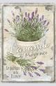 Метална картичка Lavande de Provence