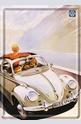 Метална картичка VW Beetle