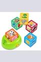 С умните кубчета научи животните