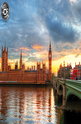 Sunset on the River Thames - 1000