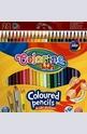 Триъгълни цветни моливи - 24 цвята