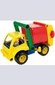 Цветен боклукчийски камион