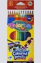Цветни акварелни моливи - 12 цвята