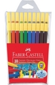 Цветни флумастери Faber-Castell 10 броя