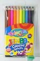 Цветни моливи - 10 цвята + острилка