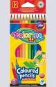 Цветни моливи - 12 цвята