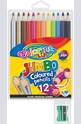 Цветни моливи - 12 цвята + острилка