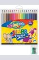 Цветни моливи - 18 цвята + острилка