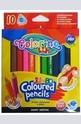 Цветни моливи - mini - 10 цвята