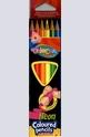 Цветни моливи - неон - 6 цвята