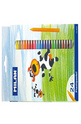 Цветни пастели - 24 цвята