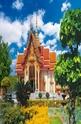 Wat Chalong Temple. Phuket Island - 1000